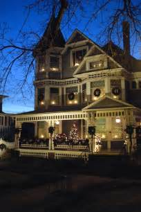 beautifully decorated homes for christmas victorian house roadkill crossing and other tales from