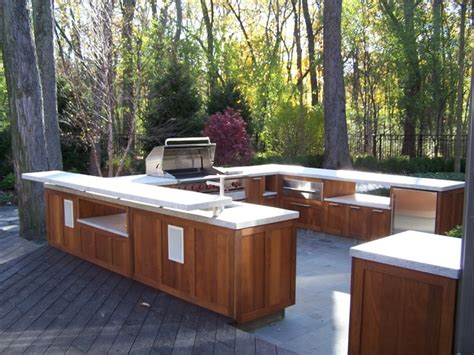 shaker style wood outdoor kitchen traditional patio philadelphia by paradise outdoor