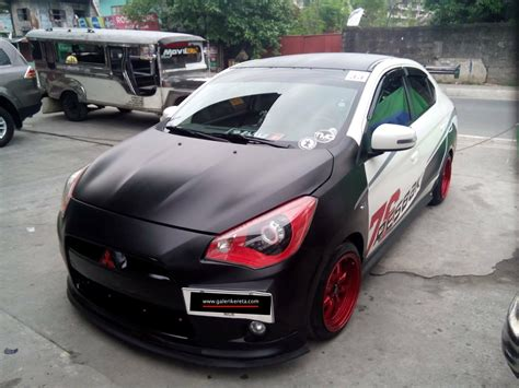 kereta mitsubishi attrage awesome mirage g4 modified share my ride gk218
