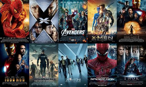 Best Marvel Movies | top 10 favorite movies based on marvel comics justine s