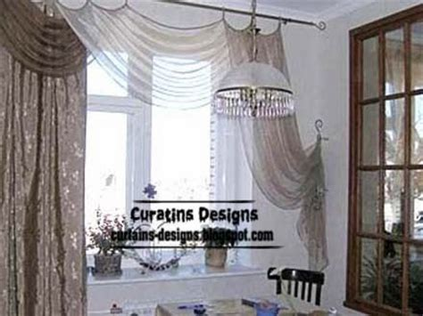 modern curtain designs ideas for kitchen windows 2014