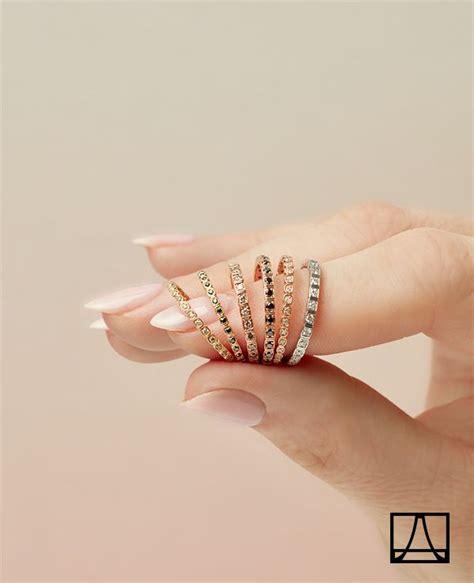 wedding rings inspiration sheffield stacking