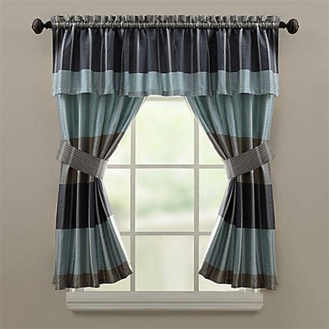 croscill fairfax shower curtain croscill 174 fairfax bath window curtain valance in slate