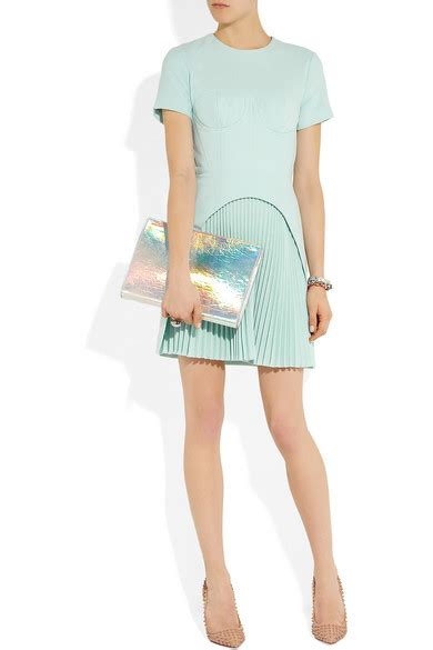 Friday Afternoon Dresses From Net A Porter by Christopher Corseted Pleated Wool Crepe Dress Net