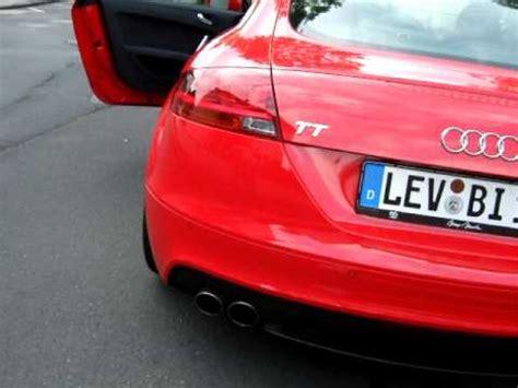 Audi Tt 8j Auspuffanlage by Audi Tt 8j Deniz S Auspuff Klappenauspuff