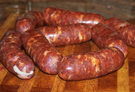 Handmade Sausage - how to make your own beef sausages at home all to health