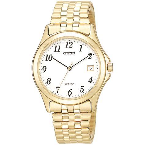 citizen bk0142 68a gents gold tone bracelet