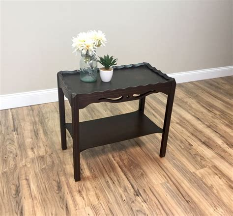 1000 ideas about narrow side table on handmade wood furniture custom wood