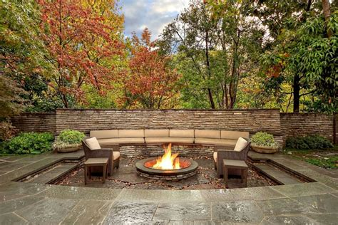 fireplace in backyard backyard patio ideas with fireplace9 landscaping