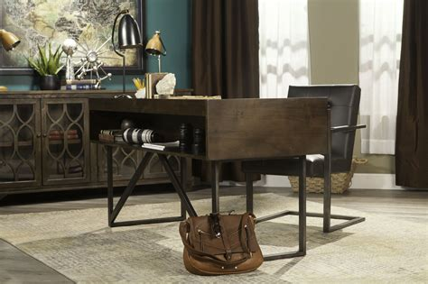 starmore 63 home office desk ashley starmore office desk mathis brothers furniture