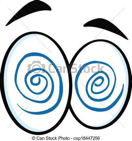 clipart vettoriali clipart vettoriali di occhi cartone animato ipnotizzato