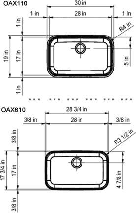 franke oceania sink reviews franke oax110 30 inch undermount single bowl stainless