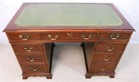 Antique Desk Styles by Antique Style Mahogany Pedestal Desk By Bradley Sold