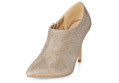 gold glitter shoe boots from new look gt shoeperwoman