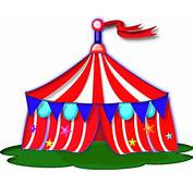 Cartoon Carnival Tent Free Circus Clip Art