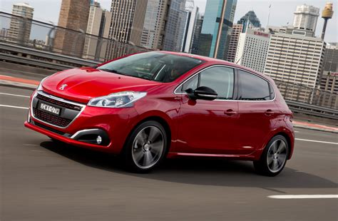 peugeot 208 red review 2017 peugeot 208 review