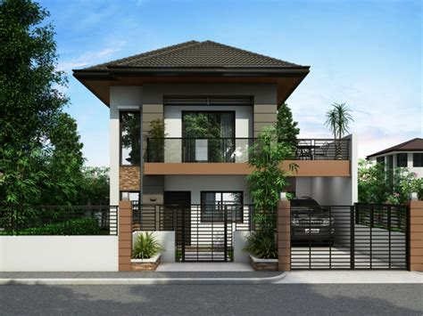 2 storey house small 2 storey house designs philippines small house