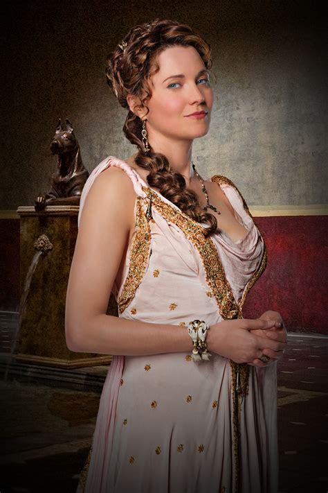 film seri gladiator lucy lawless interview spartacus gods of the arena collider