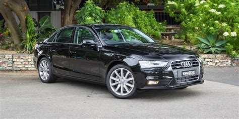 audi a4 2015 2015 audi a4 review run out round up caradvice