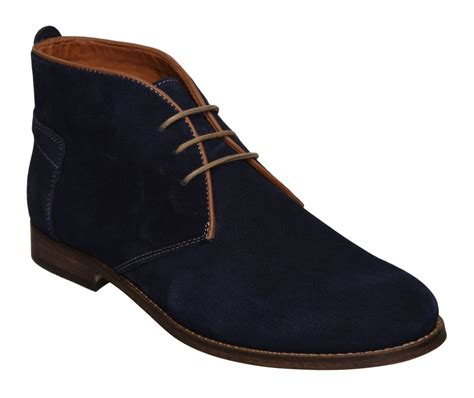 hudson vasa casual boots in blue for navy lyst