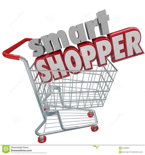 how to be a smart buyer in a kitchen store modern kitchens smart shopper red 3d words shopping cart comparison sale