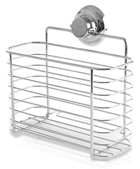 Bino Smartsuction Rust Proof Stainless Steel Shower Caddy Bathroom Shower Caddy Rust Proof