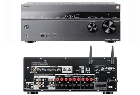 the sony str dn1070 home theater receiver profiled