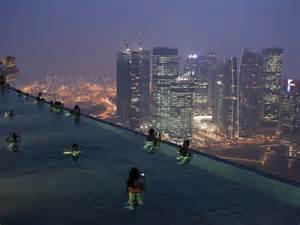 Infinity Pool In Singapore Marina Bay Sands Resort Microtravelling