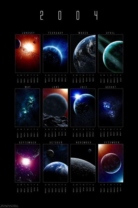 Daily Cosmic Calendar 2004 Cosmic Calendar By Dinyctis On Deviantart