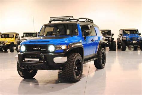 Toyota Fj Crusier Toyota Fj Cruiser New Wheels Lift Tires Leds Matte