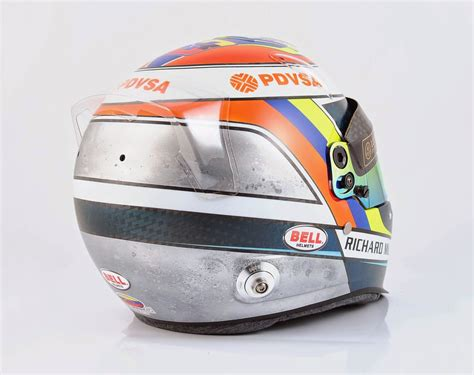 Kaos Bell racing helmets garage bell hp7 carbon p maldonado 2015 1 by kaos design