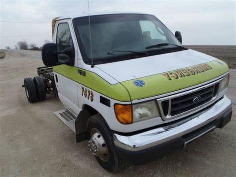 sell used 2003 ford e 450 7 3 turbo diesel truck van cutaway in sumner iowa united states