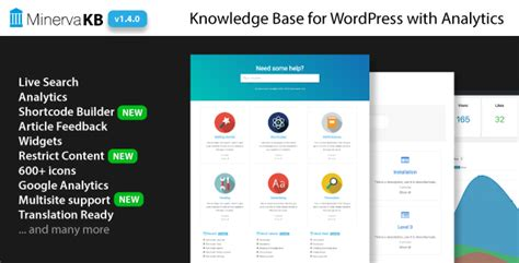 Minervakb V1 4 4 Knowledge Base For With Analytics minervakb v1 4 1 knowledge base for with