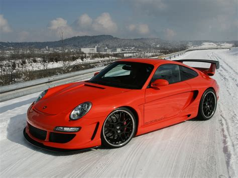 Porsche Snow Drift Wallpapers And Images Wallpapers