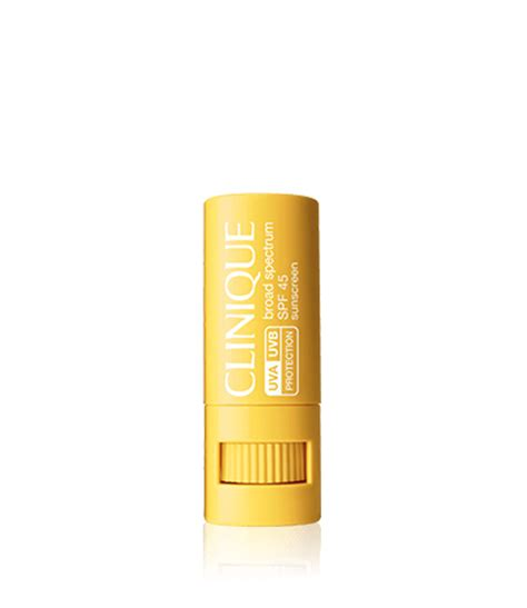 Sunscreen Clinique broad spectrum spf 45 sunscreen targeted protection stick