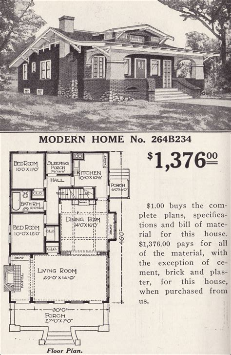 old sears house plans sears catalog house plans 171 floor plans