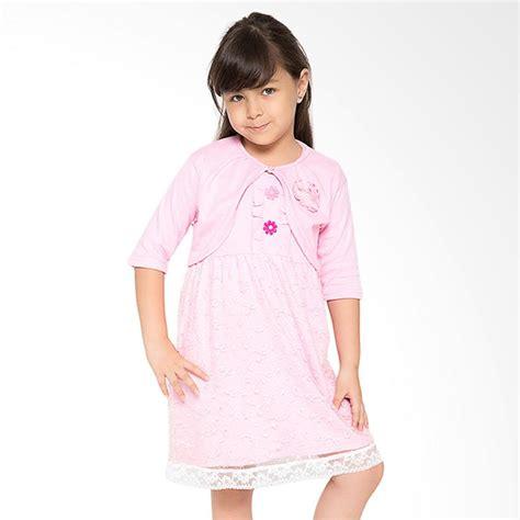 Baby Dress Tile Design Dress Anak Desain Tile jual 4 you bolero tile dress pink harga kualitas terjamin blibli
