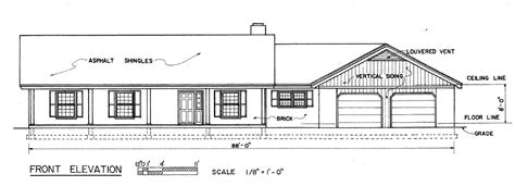 Contemporary Raised Ranch House Plans H Shaped Raised H Shaped Ranch House Plans