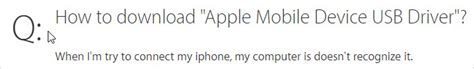 mobile device support apple how to apple mobile device support on windows 10 8 7