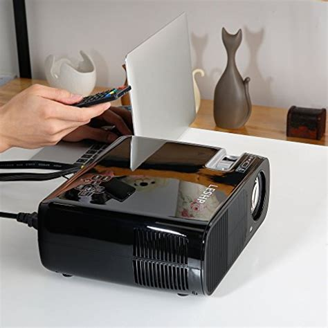 backyard tv projector projector leshp video projector 1080p hd home theater