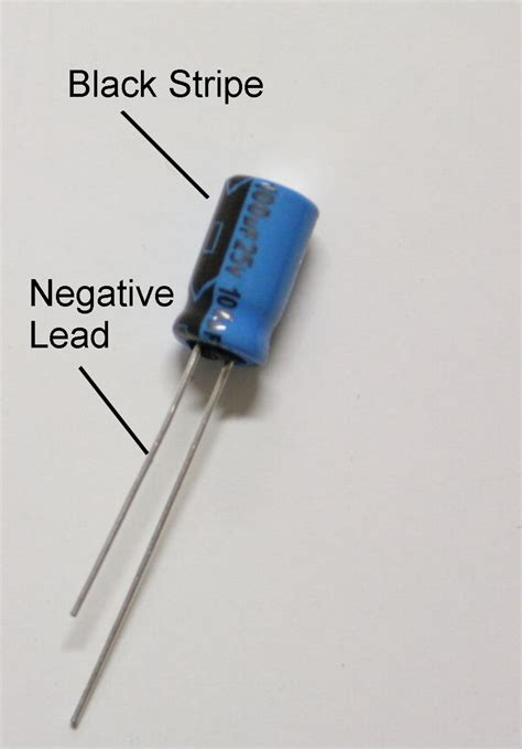 capacitor polarity teknoplace net