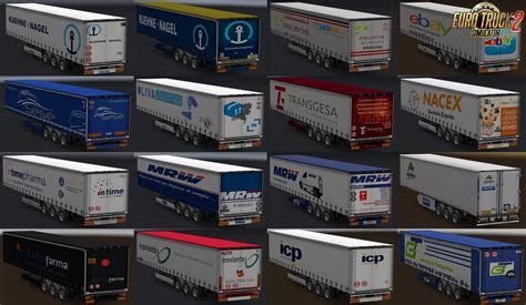real company trailers  maryjm   ets mods euro truck simulator  mods