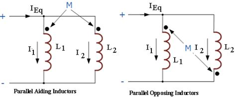 inductor parallel circuit inductors in parallel combination electronics tutorial