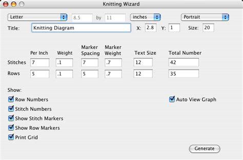 knitting software knitting wizard software to create knitting grids knitting