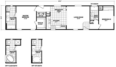 14x60 mobile home floor plans 14x60 mobile home floor plans floor matttroy
