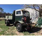 Original WWII 1941 Autocar U 2044 4x4 COE Short Wheelbase
