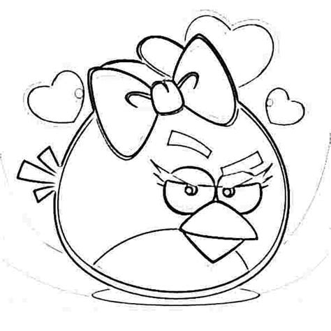 angry birds valentines day coloring pages angry birds epic coloring page my free coloring pages