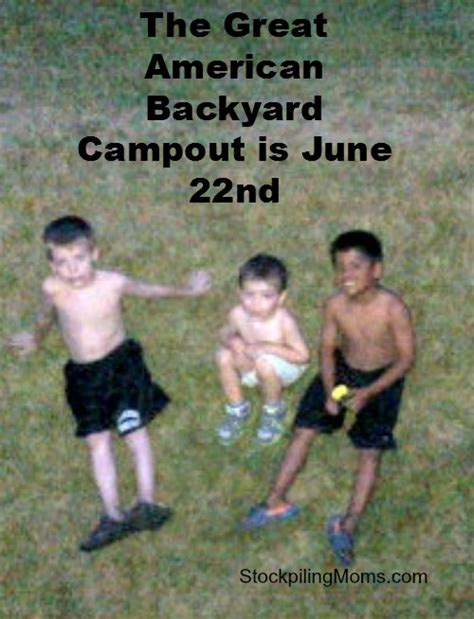 great american backyard cout great american backyard cout june 22nd