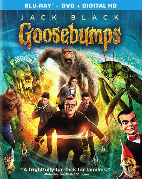 film goosebump goosebumps blu ray review by patrick mccabe we live