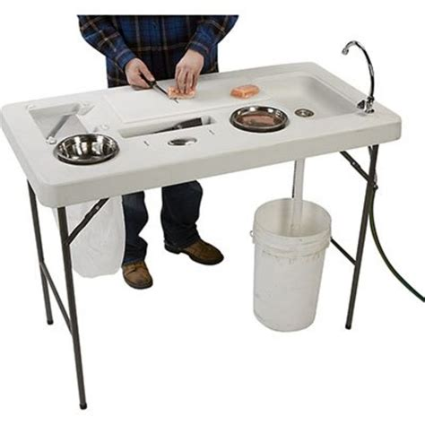 folding fish cleaning table best portable fish cleaning table a listly list